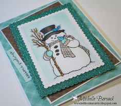 StampendousCountry Snowman