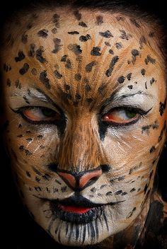 Animal Face Art, Beastly Makeup   Face Art, Portraits & Mug Shots