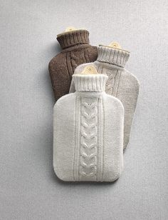 Knitted Hot-Water Bottle