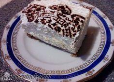 Kókuszhabos cukormentes sütemény sütés nélkül
