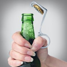 Creative product designs #14 - One-Handed Bottle Opener
