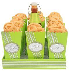 Botanas para xv años. Barra de dulces para fiestas. Verde