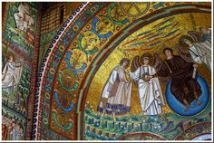 Beautiful mosaics of Ravenna, Italy
