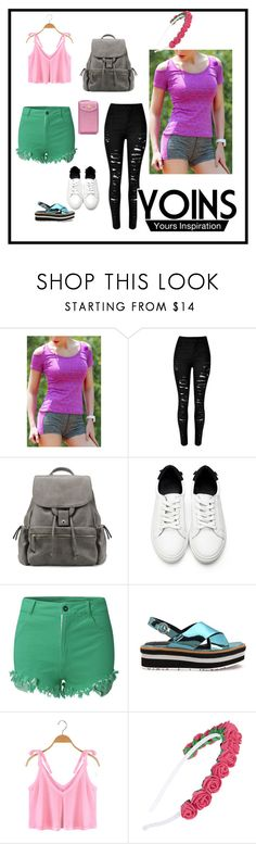 """""""Yoins 27"""" by fatimazbanic ❤ liked on Polyvore featuring polyvorefashion, yoins, yoinscollection and loveyoins"""