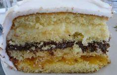 Birthday or Wedding Cake Recipe: 7 Delicious Recipes! Other Recipes, Sweet Recipes, Cake Recipes, Köstliche Desserts, Delicious Desserts, Yummy Food, Brazillian Food, Gateaux Cake, Portuguese Recipes