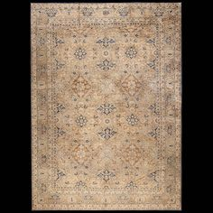 Kerman Rug - 22824 | Persian Formal Origin Persia, Circa: 1900  #antiquerug #rahmanan #persianeug #antiquerugstudio #nyc,