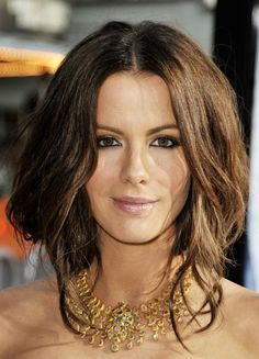 The Fake Bob Hairstyle Trend for Prom: Kate Beckinsale from the front