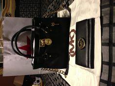My new Michael Kors bag and wallet
