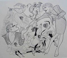 Al Hirschfeld, 1985 La Cage Aux Folles