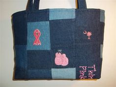 The other side of the Think Pink purse