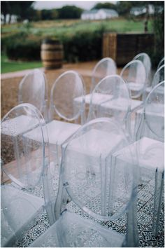 Our ghost chairs at Boschendal, photo by Ronel Kruger