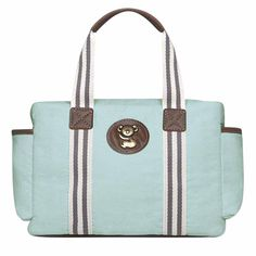 Kit 3 Bolsas Maternidade Adventure Classic For Baby Bags - Azul Bebê - Clik Baby