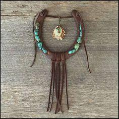 Horseshoe & Turquoise Decor Decorated by OzarkMountainRustic