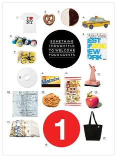 Out-of-Towners New York Welcome bag via Chelsea Baskets | Gifts I ...