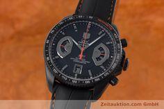 TAG Heuer Carrera Chronograph Titan Automatik Kal. 17 ETA 2894-2 Ref. CAV518K   juwelier-haeger.de