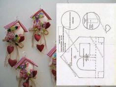 очаровательные игрушки из фетра, ткани. шаблоны