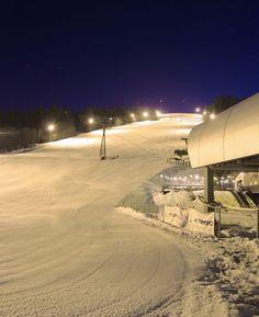 Flutlichtpiste in Flachau, voor als je overdag nog niet voldoende hebt geskied.