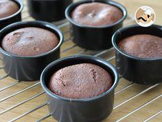 Fondant de chocolate / petit gâteau de chocolate, Receita de PetitChef_PT - Petitchef
