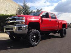 "2015 Chevrolet Silverado 2500hd 4wd Diesel 7"" Lift Kit - Mcgaughys 52350"