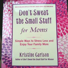 Great book for moms to read!