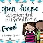 These free editable resources were created for Open House.