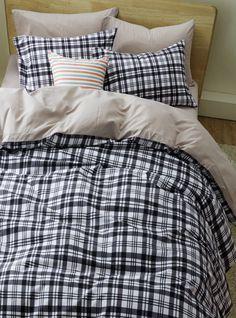 Tartan Scottish Stripes And Plaids Black Bedding Girls Bedding Teen Bedding Kids Bedding