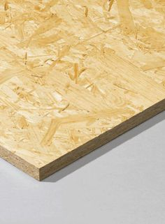 ORIENTED STRAND BOARDS (OSB) -  Strong and resilient, these boards are used for wall sheathing, roof sarking, flooring, packaging and concrete formwork.