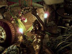 SERAPH + SPLENDOR Orchid Skull Garden...