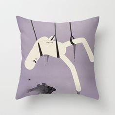 a p e s o Throw Pillow by Marco Puccini - $20.00