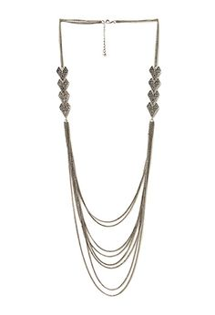 Exotic Chain and Arrow Necklace | FOREVER 21 - 1000088117 #F21CRUSH