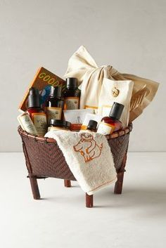 WE ♥ THIS!  ----------------------------- Original Pin Caption: Erbaviva Baby Gift Basket Multi One Size Fragrance #anthrofave