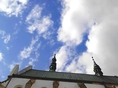 Steeple in sky    #church #sky #steeple #tower   http://instagram.com/p/rReELcwzuC/  https://www.flickr.com/photos/81991670@N05/14639499590/