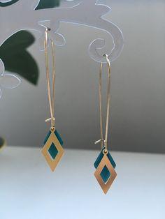 Diy Leather Earrings, Diy Earrings, Leather Jewelry, Diy Accessories, Leather Accessories, Bohemian Jewellery, Bijoux Diy, How To Make Earrings, Clay Jewelry