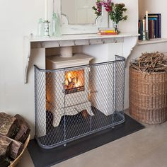 Fireguards for stoves and nursery fire guards | Garden Requisites