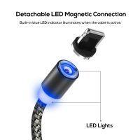 Magnetický nabíjací lightning kábel s LED osvetlením pre iPhone a iPad Ipad 1, Lampe Led, Mobiles, Apple Watch, Magnets, Usb, Lights, Iphone, Lightning