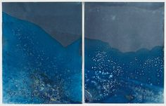 Cyanotype, a 19th-century photographic printing process, is making a resurgence, notably in an exhibition at the Worcester Art Museum.