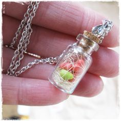 tiny hearts in a bottle