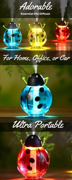 All new essential oils diffuser! Beautiful spring time design. Enjoy all natural aromatherapy using your favorite essential oils. Free shipping on every order!