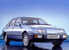 2.3 ltr Diesel 1986 Ford Sierra .