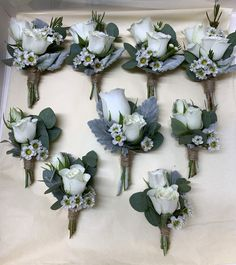 Boutonnieres, Floral Wreath, Wreaths, Home Decor, Room Decor, Garlands, Home Interior Design, Decoration Home, Floral Arrangements