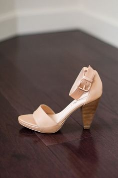 Ankle Strap - Nude Leather | Emerson Fry