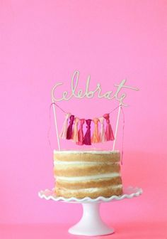 DIY Easy Alphabet Cake Toppers Alphabet cake DIY Birthday and Cake