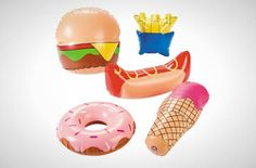 We all stay away from fast food during bikini season. So get your fun fast food fill with these FAST FOOD FLOATS! Move over In-N-Out-Burger! These fun accessories will make your insta-feed shine.