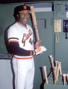 Willie McCovey of the San Francisco Giants poses for a portrait inside the dugout in Willie McCovey played for the San Francisco Giants from Get premium, high resolution news photos at Getty Images Mlb Uniforms, Baseball Uniforms, Baseball Players, San Fransico Giants, Pirates Baseball, Baseball Wall, Baseball Cards, Negro League Baseball, Oscar Winning Movies