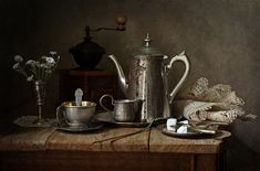 Fine Art Photograph Photograph - Coffee Has Gone by Helen Tatulyan