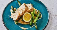 Tejszínes spárgás csirke recept | Street Kitchen Naan, Penne, Avocado Toast, Thai Red Curry, Favorite Recipes, Healthy Recipes, Chicken, Breakfast
