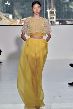 Fashion Trend 2015 Delpozo Spring 2015 Ready-to-Wear - Collection - Gallery - Look 1 - Style.com