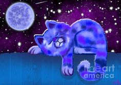 Blue Moon Slumber by Nick Gustafson
