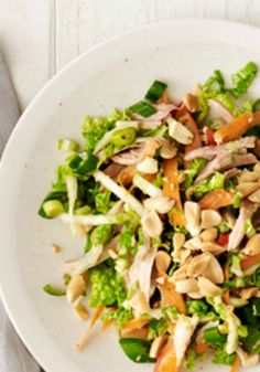 Thai Chicken Salad. A healthy dinner recipe that you will love!