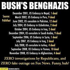 George W. Bush's Benghazis